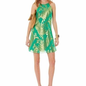 Lilly Pulitzer Angel Halter Dress